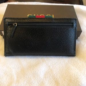 Gucci Bags - Gucci wallet with zip back pocket
